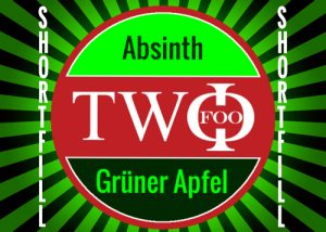 FOO TWO shortfill Absinth Grüner Apfel