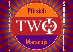 FOO TWO shortfill Pfirsich Maracuja