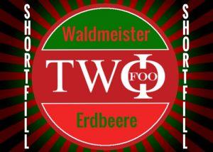 FOO TWO shortfill Waldmeister Erdbeere