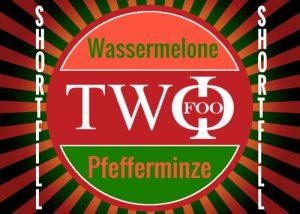 FOO TWO shortfill Wassermelone Pfefferminze